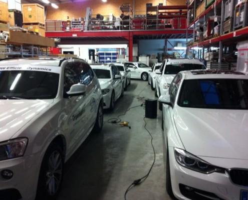Autobeschriftung BMW weiß