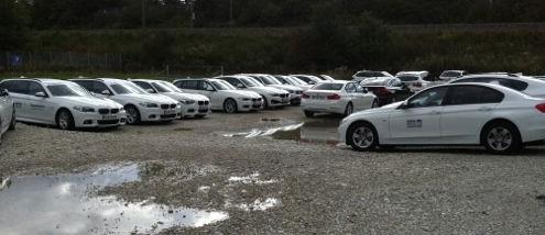 Autobeschriftung BMW Seite